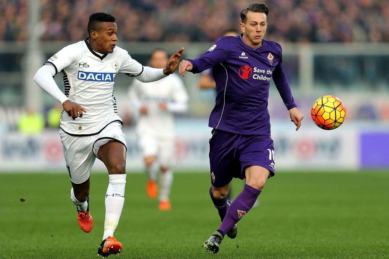 Fiorentina Kalah 1-2 dari Udinese webet188