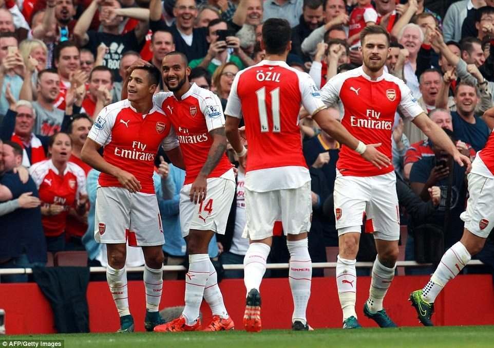 Gol Sanchez Buat Arsenal Bekuk WBA webet188